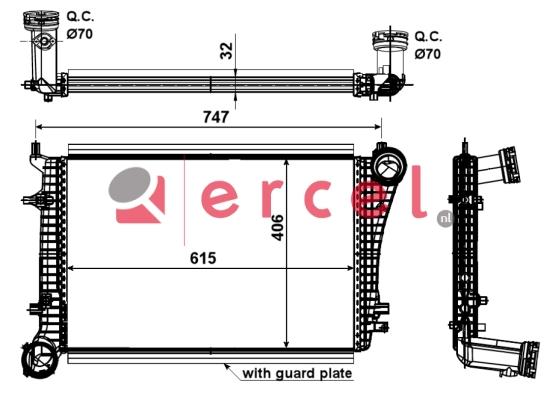 Interkoeler VWI 466