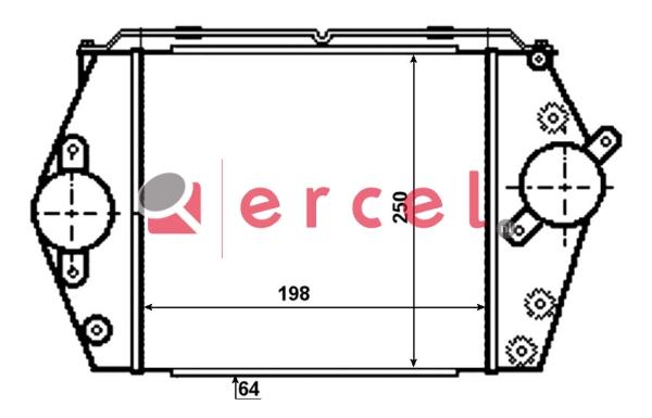 Interkoeler MAI 406