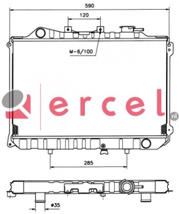 Radiateur MAR 022