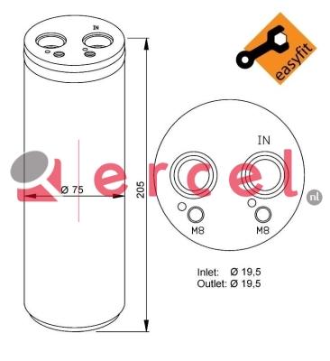 Airco droger/filter VWD 009