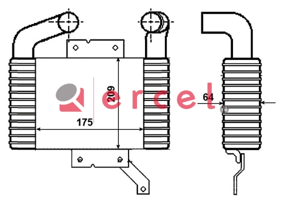 Interkoeler MAI 404