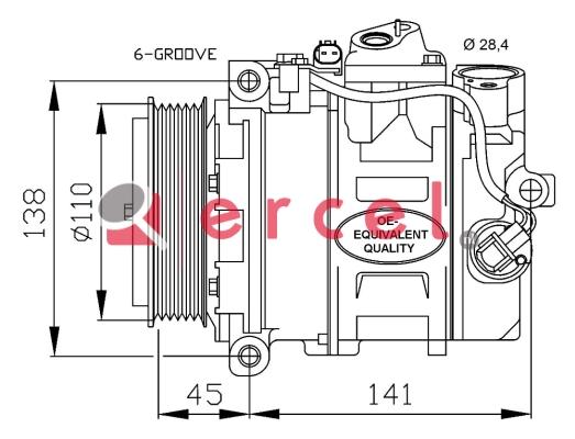 Airco compressor MBK 019