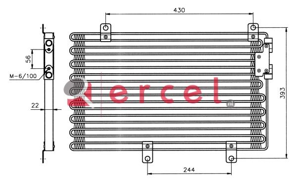 Airco condensor ARC 518