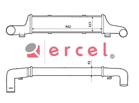 Interkoeler MBI 420