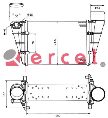 Interkoeler AUI 400
