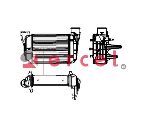 Interkoeler AUI 401