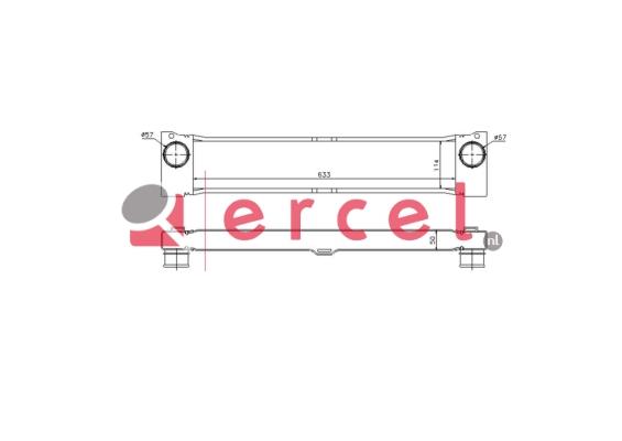 Interkoeler MBI 405