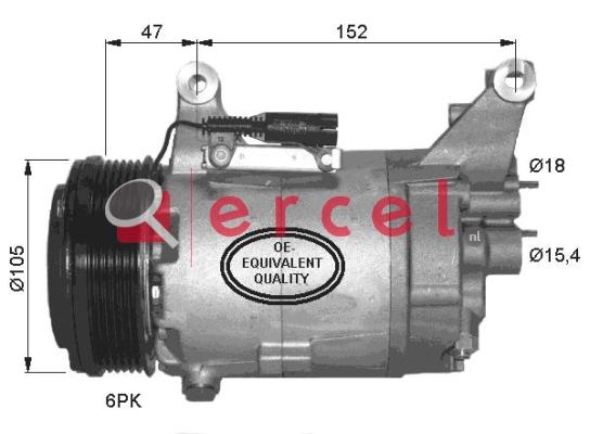Airco compressor BMK 031