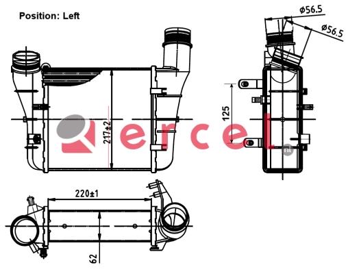 Interkoeler AUI 469