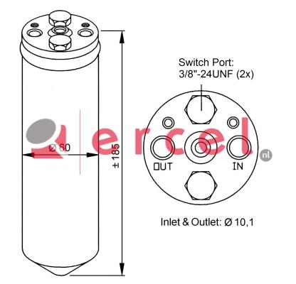 Airco droger/filter NID 002