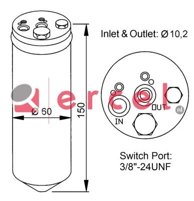 Airco droger/filter NID 006