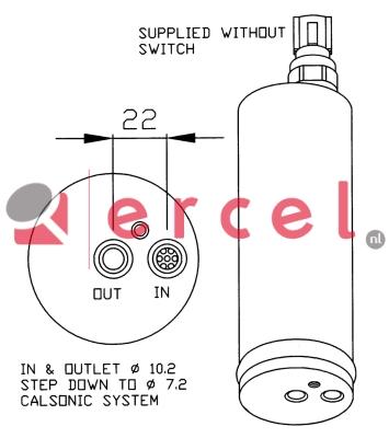 Airco droger/filter NID 005