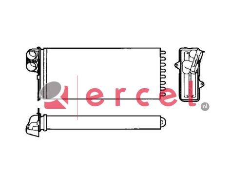 Kachelradiateur REH 254