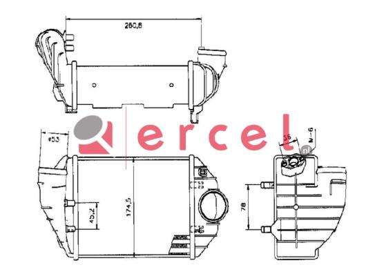 Interkoeler AUI 450