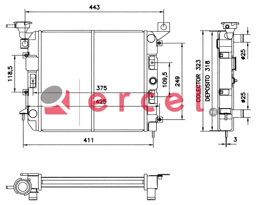 Radiateur NIR 018