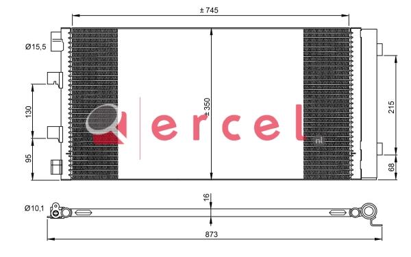 Airco condensor REC 901