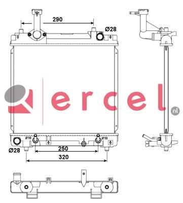 Radiateur SUR 108