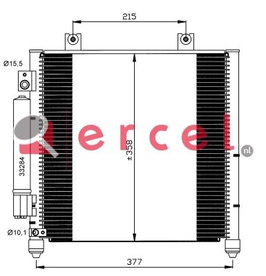 Airco condensor OPC 562