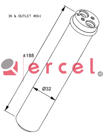 Airco droger/filter OPD 018