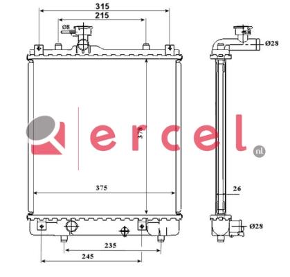 Radiateur OPR 195