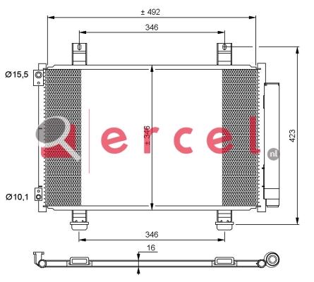 Airco condensor OPC 561