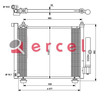 Airco condensor OPC 527