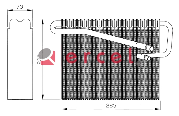 Airco verdamper OPV 018