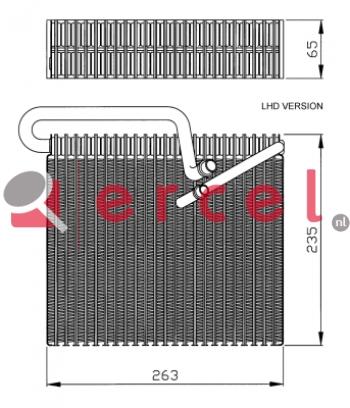 Airco verdamper OPV 012