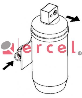 Airco droger/filter OPD 001