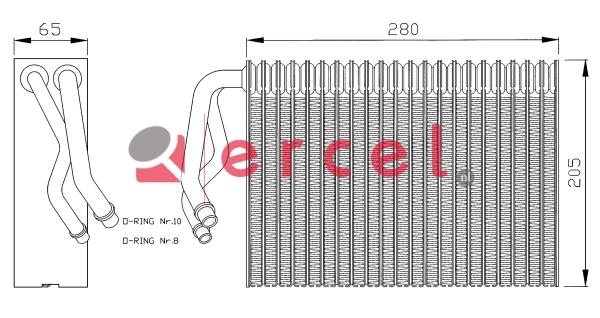Airco verdamper OPV 003