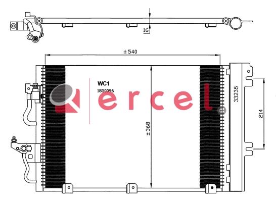 Airco condensor OPC 578