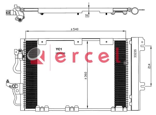 Airco condensor OPC 509