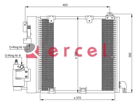 Airco condensor OPC 542