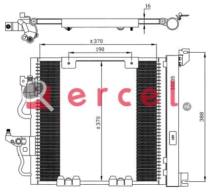 Airco condensor OPC 572