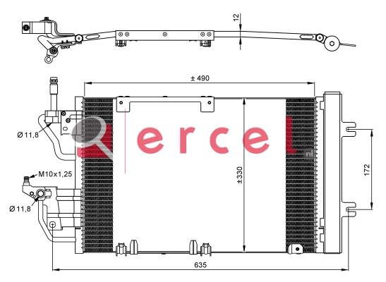 Airco condensor OPC 588