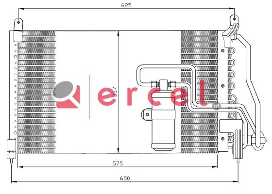 Airco condensor OPC 516