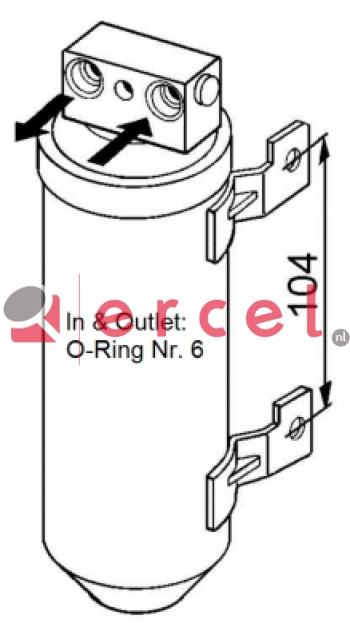 Airco droger/filter OPD 002