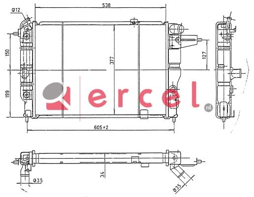 Radiateur OPR 096