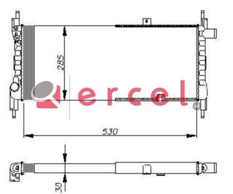 Radiateur OPR 030