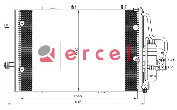 Airco condensor OPC 574