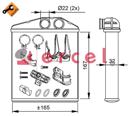 Kachelradiateur OPH 270