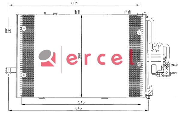 Airco condensor OPC 548