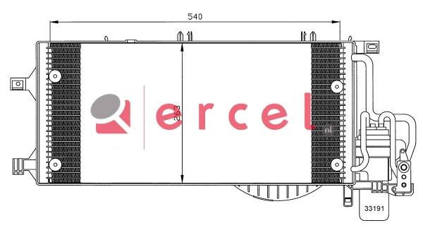 Airco condensor OPC 552