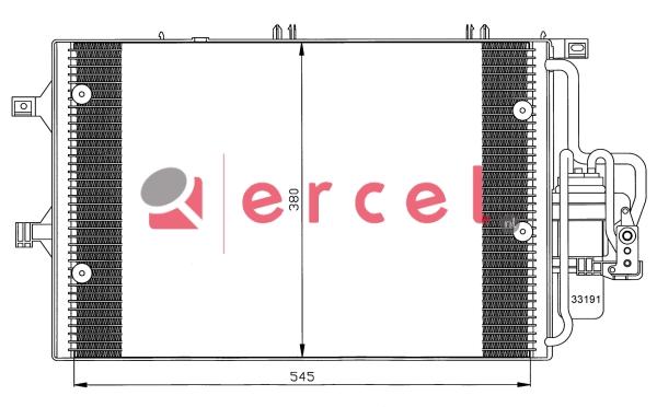 Airco condensor OPC 554