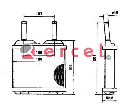 Kachelradiateur OPH 222