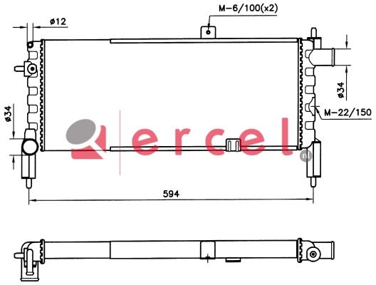 Radiateur OPR 068