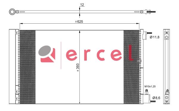 Airco condensor OPC 503