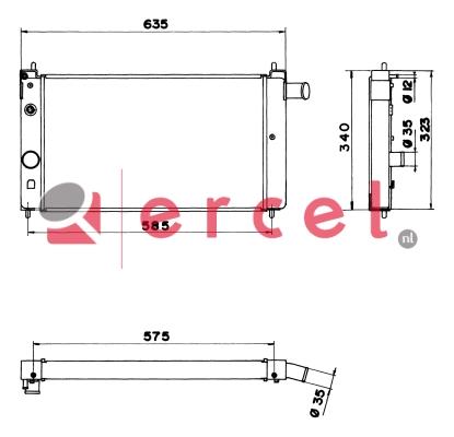 Radiateur OPR 072