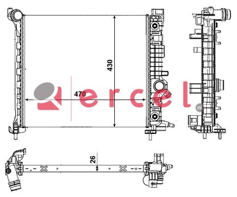 Radiateur OPR 772