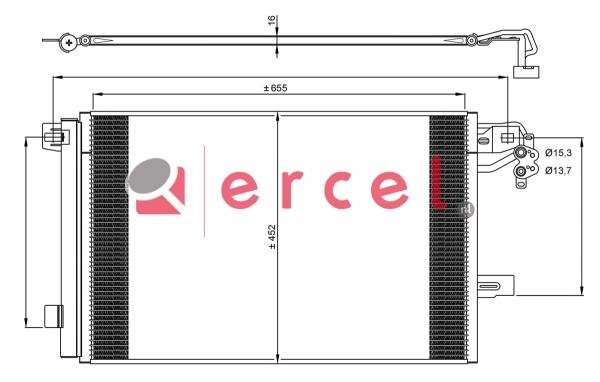 Airco condensor VWC 519